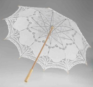 Декоративный зонтик ажурный Markoflash 80см SA01