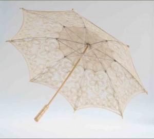 Декоративный зонтик ажурный Markoflash 60см SA02