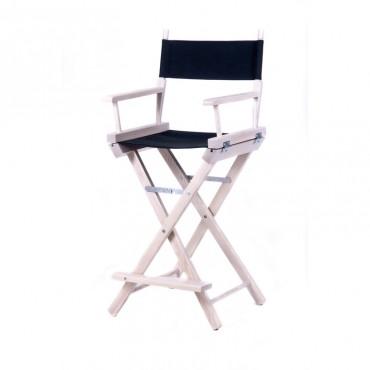 Высокий деревянный режиссерский стул S-Light Premium (Light)