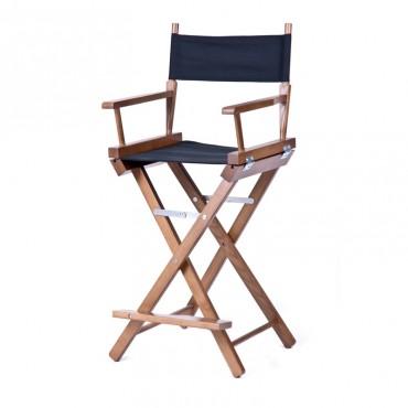 Высокий деревянный режиссерский стул S-Light Premium (Redwood)